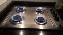Instalaciones de gas, puntos de gas, revicion de fugas de gas.