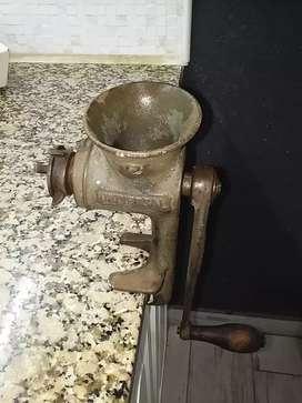 Máquina antigua choricera