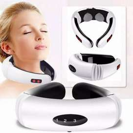 Masajeador electrico de cuello