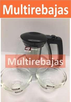 Tetera Con Filtro Diseño Elegante Gratis 4 Tazas Para Té  o Café