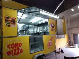 FOOD TRUCK CONO PIZZA ARGENTINA