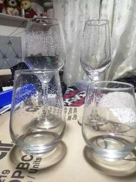 Set de cristalería