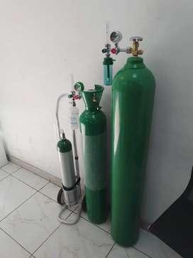 Alquiler de Cilindro de oxígeno 10mts cubicos