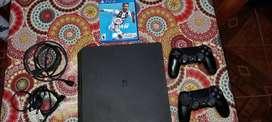 PS4 Edicion Fifa 19 con 2 Joystick