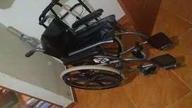 Se vende silla de ruedas + caminador