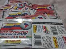 Sobre de Figuritas copa America Venezuela 2007
