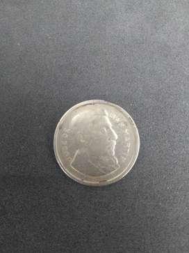Moneda de 50  centavos 1953