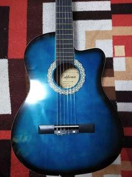 descubre la guitarra california electro acustica de sonido muy espectacular