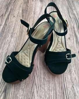 Zapatos con taco