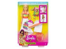 Barbie Crayolas Sorpresa de frutas