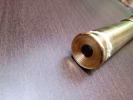 telescopio en bronce y cuero lo cambio por portatil