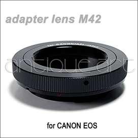 A64 Adaptador Para Lente Montura M42 A Camaras Canon Eos
