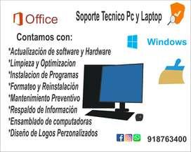 SERVICIO TÉCNICO COMPUTADORAS LAPTOP