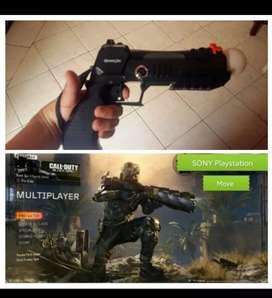 Pistola Move PS3