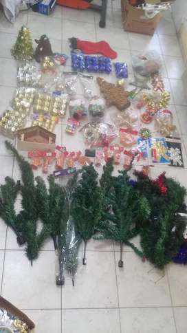 vendo articulos de navidad,arbolitos,perebre,luces,bolas