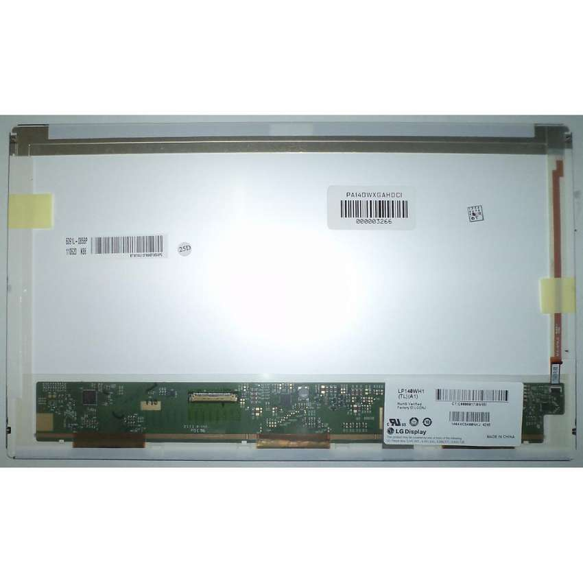 TOSHIBA DISPLAY PANATALLA 14.0 HD LED CON GARANTIA 0