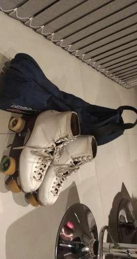Vendo patines roll-line Variant originales italianos con porta patines