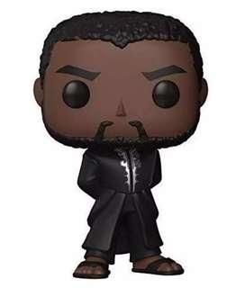 Funko Pop! T'challa Black Panther (Pantera Negra) Marvel