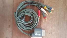 Cable audio y video Xbox 360