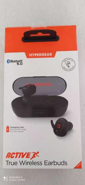 Audífonos Bluetooth 5.0 Hypergear Active Wireless Earbuds Original.