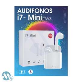 Audifonos Bluetooth I7 Mini Tws Estilo Apple Bluetooth