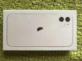 iPhone 11 de 128Gb Blanco Nuevo Garantia un año con apple factura