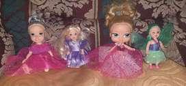 Princesas en miniatura