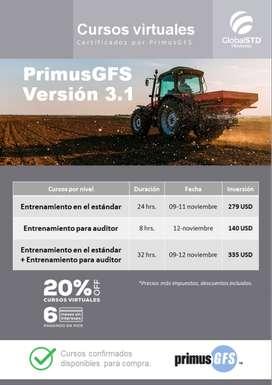 Entrenamiento en el estandar PrimusGFS V3.1