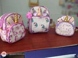 bolso unicornio para niña