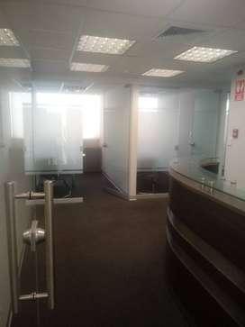 Oficina de 85 m2 en Alquiler Miraflores