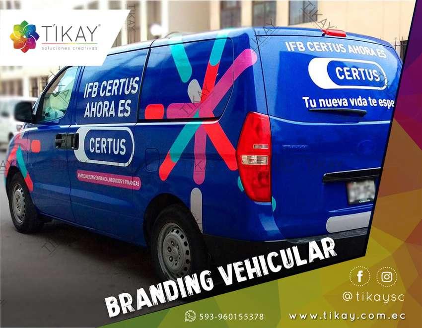 Rotulación Vehicular, Vinilos y Branding para vehículos, camiones y camionetas. rotulación carros, impresión camion 0