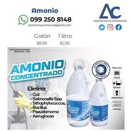 Amonio concentrado