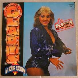 disco vinilo Gladys la bomba tucumana La numero uno