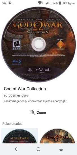 Vendo Juego dios de La Guerra Collection
