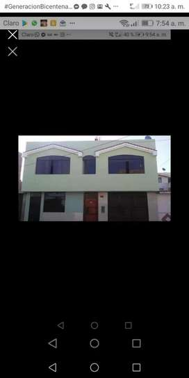 Casa 2 pisos 154000$ negociable en tacna cerca av pinto full acabados papeles al dia trato directo