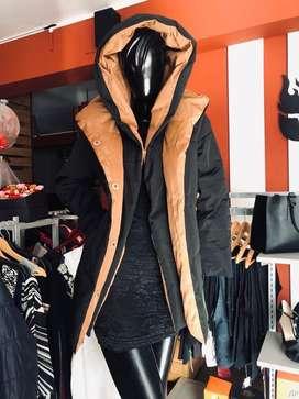 Casacas y abrigos importados de pluma