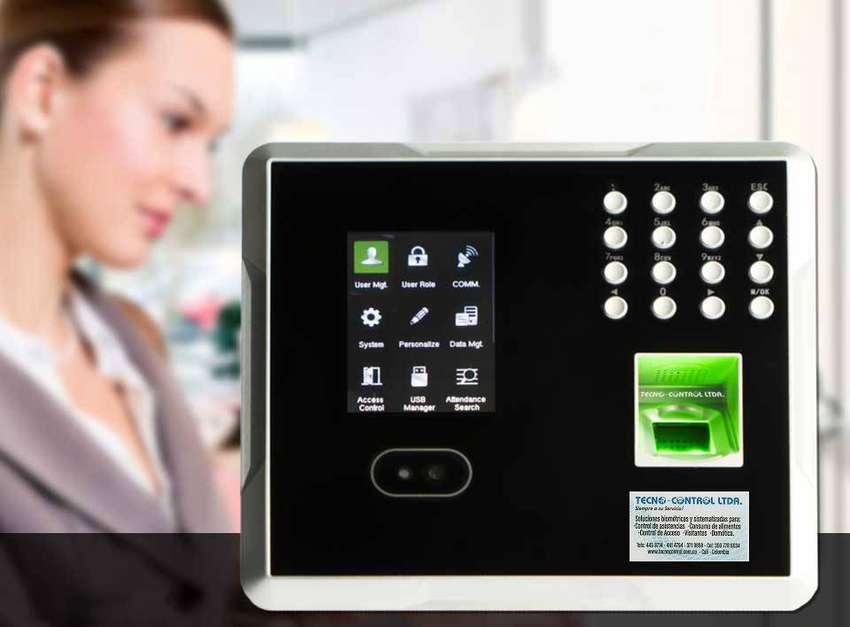 Reloj facial control de personal biométrico en Cali 0