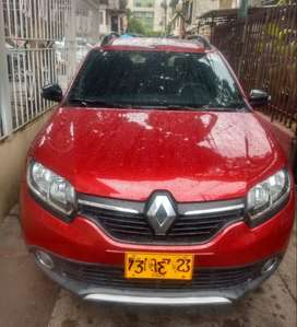 Venta carro renault sandero stepway trek color rojo 2018