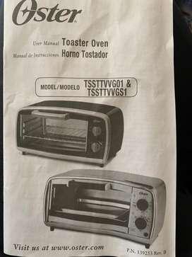 Horno tostador Oster .. Nuevo.