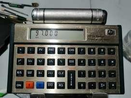 Calculadora financiera 12 c dorada Prestige cálculos de interés  flujos de caja bonos y más