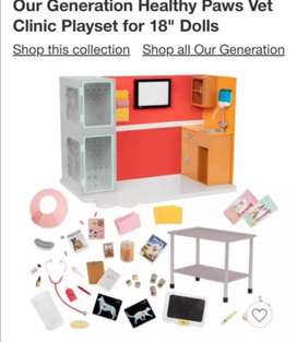 Our Generación Clinic Playset for 18 dolls