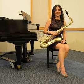 Saxofonista en Cali