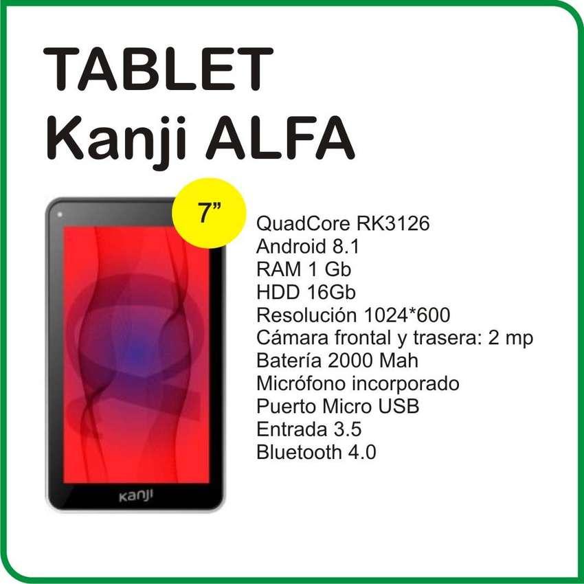 Tablet 7 Kanji Alfa Quadcore 8gb 1gb 0