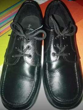 Zapatos negro talla 34 niño