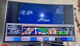 Televisor curvo  de 55 pulgadas 4K