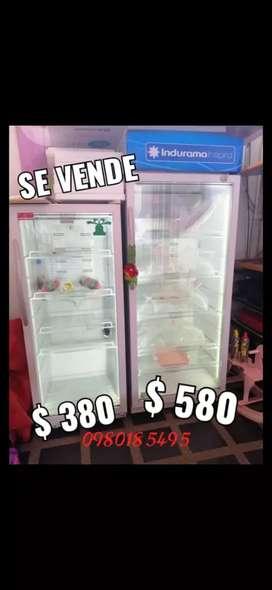 Vitrinas refrigeradoras congelador