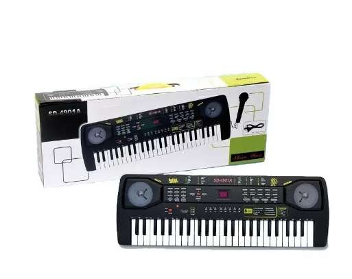 Piano Organeta Para Niños 49 Teclas  Micrófono 0