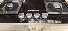 Estufa challenger de enpotrar en cocina integral de 60 cms