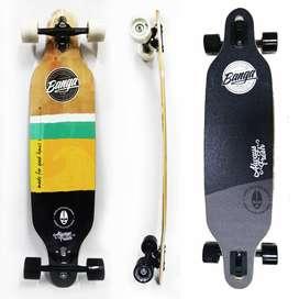 Longboard Banga Boards - 100% Maple Canadiense - Profesional  Freeride