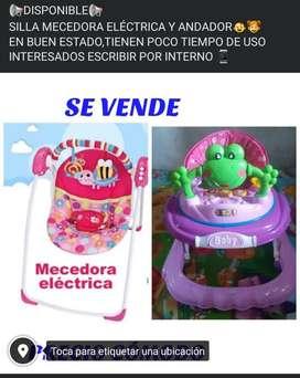 MECEDORA ELÉCTRICA Y ANDADOR